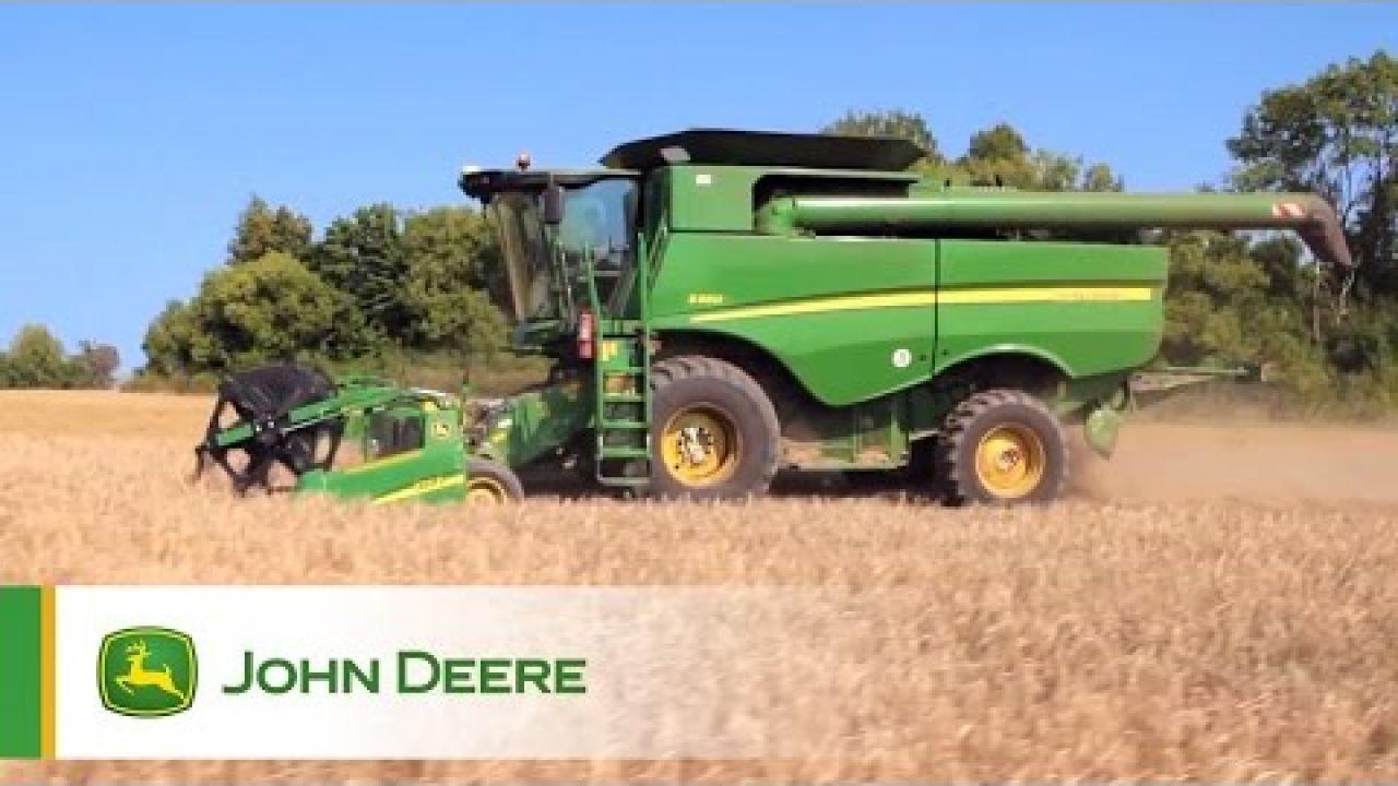 Отзывы клиентов о зерноуборочных комбайнах John Deere