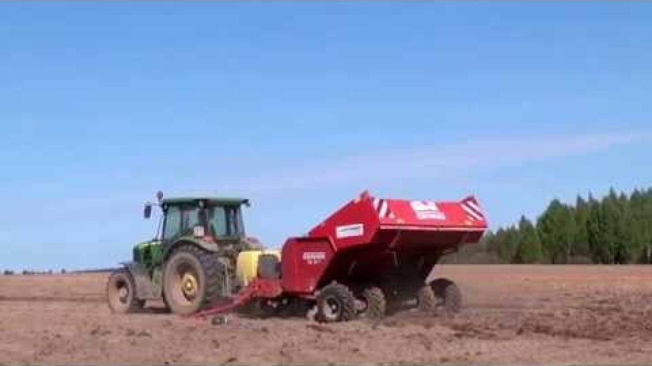 Технология обработки почвы и посадки чипсового картофеля